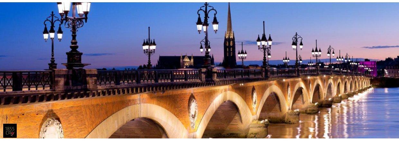 Byen Bordeaux og dens historie