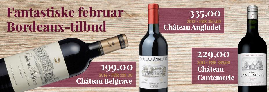 Februar måneds Bordeaux-kup