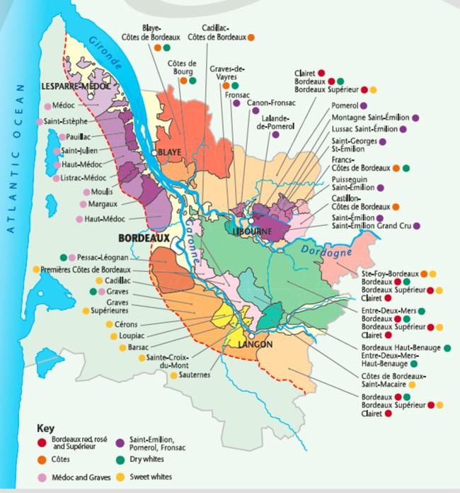 Bordeaux Appelationer