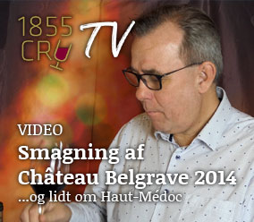 1855 CRU TV: Vi smager Château Belgrave 2014 og taler om Haut-Médoc