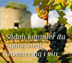 Sådan kommer du igang med investering i vin